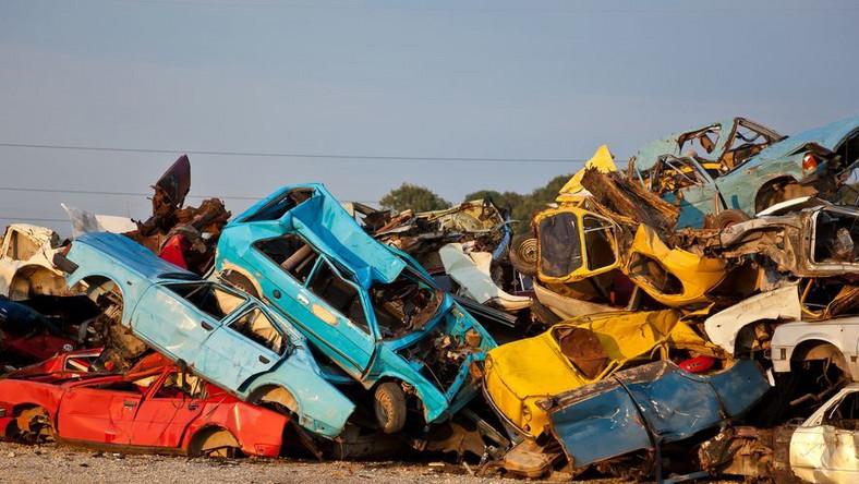 Drugie życie samochodowego złomu