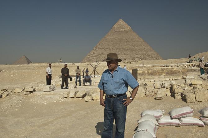 Arheologija je njegov život