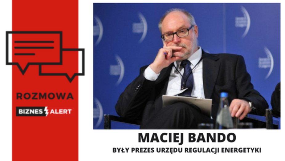 Maciej Bando. Grafika: BiznesAert.pl