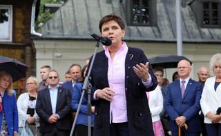Wykaz lotów premier Beaty Szydło opublikowany na stronie internetowej KPRM