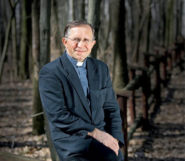 Ksiądz Józef Naumowicz, profesor nauk humanistycznych, historyk literatury wczesnochrześcijańskiej