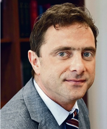 Radosław Potrzeszcz adwokat, starszy partner w kancelarii Głuchowski Siemiątkowski Zwara fot. Wojtek Górski