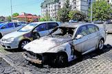 NIS05 BMW vlasnistvo supruge policajca izgoreo je u pozaru na Vizantijskom bulevaru u Nisu foto Branko Janackovic