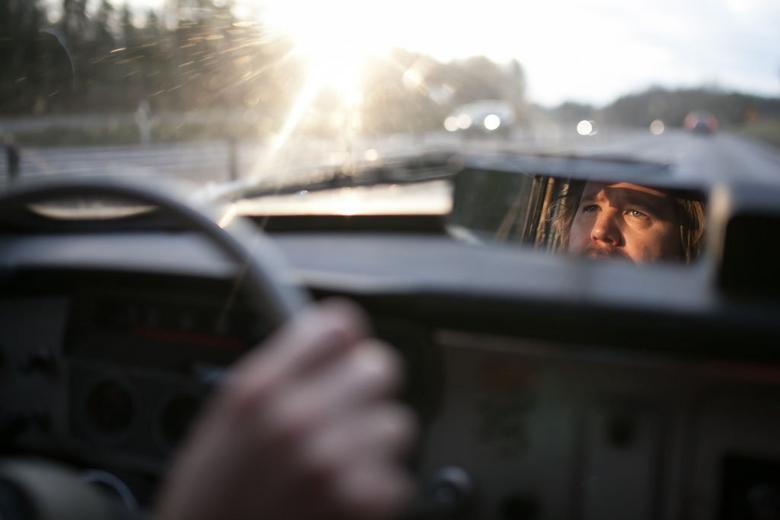 Prędkość podróżna to ok. 90 km/h. W Szwecji to nie problem – nikt nie próbuje wyprzedzać.