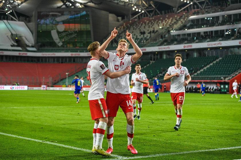 Karol Świderski (24 l.) w meczu z Andorą strzelił swojego pierwszego gola dla reprezentacji.