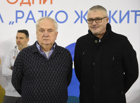 Božidar Maljković i Predrag Danilović
