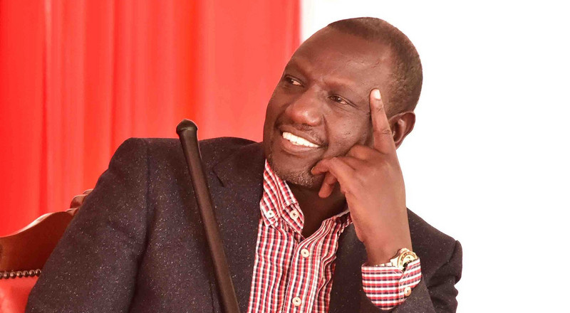 Ooliskia wapi? Ruto mocks politicians pushing Uhuru to delay his retirement
