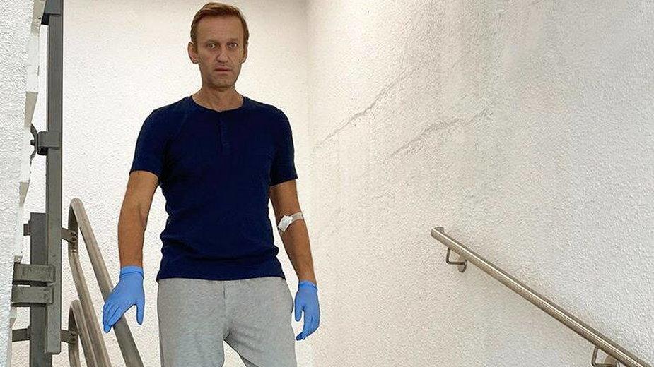 Jedno z najnowszych zdjęć Aleksieja Nawalnego opublikowane po otruciu