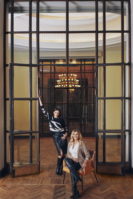 Ewa Wachowicz i Paulina Krupińska w kampanii kolekcji Quiosque jesień/zima 2020