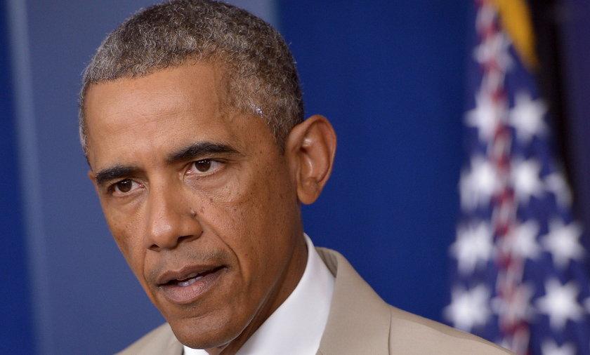 Barack Obama w niebezpieczeństwie
