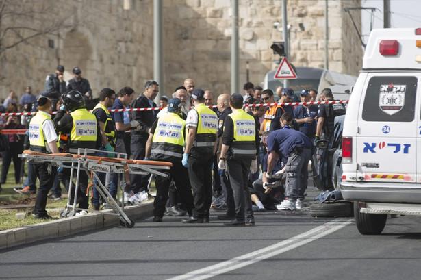 Kolejne ataki Palestyńczyków na Izraelczyków