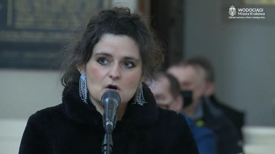 Piosenkę odśpiewano w krakowskim kościele w lutym br