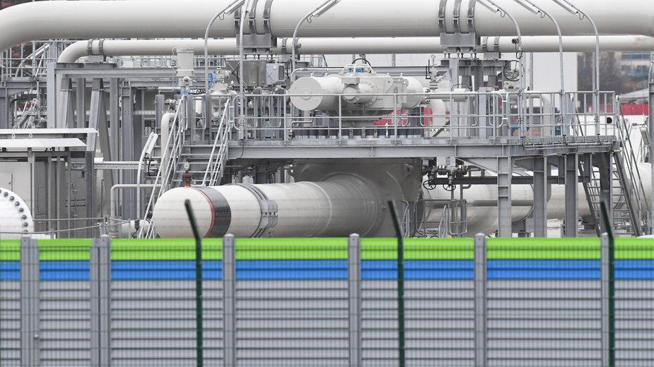 Instalacje w Niemczech do odbioru gazu z Nord Stream 2
