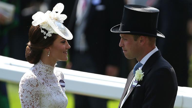 Kate i William w Ascot