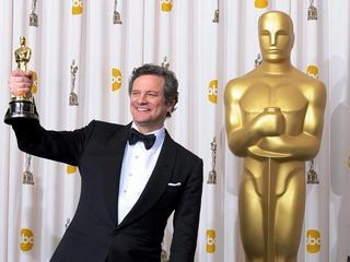Colin Firth z Oscarem