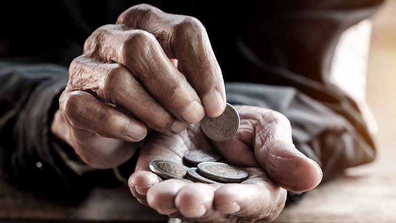 Mężczyzna składał pieniądze od młodości