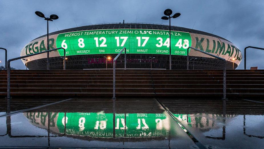 Zegar klimatyczny na Dzień Ziemi