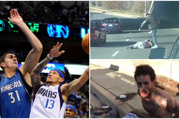 SVET U ŠOKU! Bio je NBA as, igrao sa Lebronom pa mu spavao sa majkom, a sad je BESKUĆNIK koga brutalno tuku na ulici! /UZNEMIRUJUĆI SNIMAK/