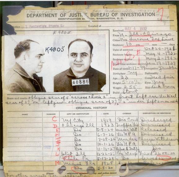 Kriminalni dosije Al Kaponea, 1932.