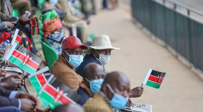2 moments which proved politicians are not enemies during Mashujaa Day celebrations