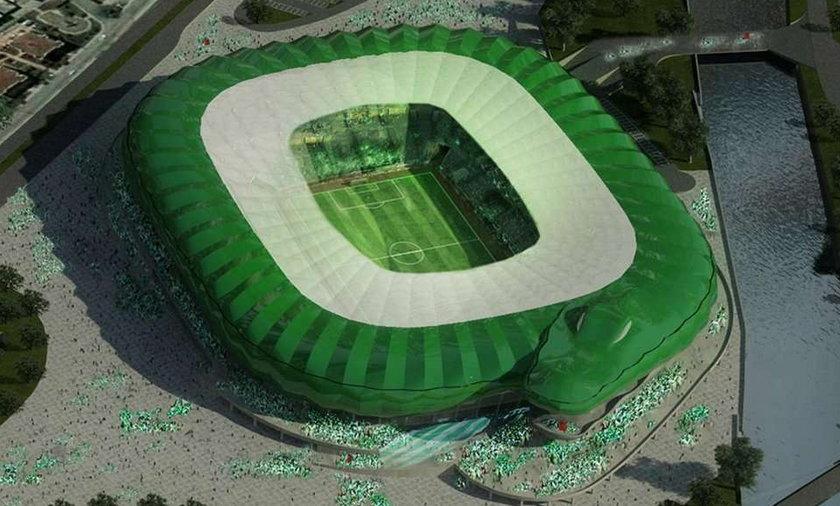 W Turcji powstaje stadion - krokodyl