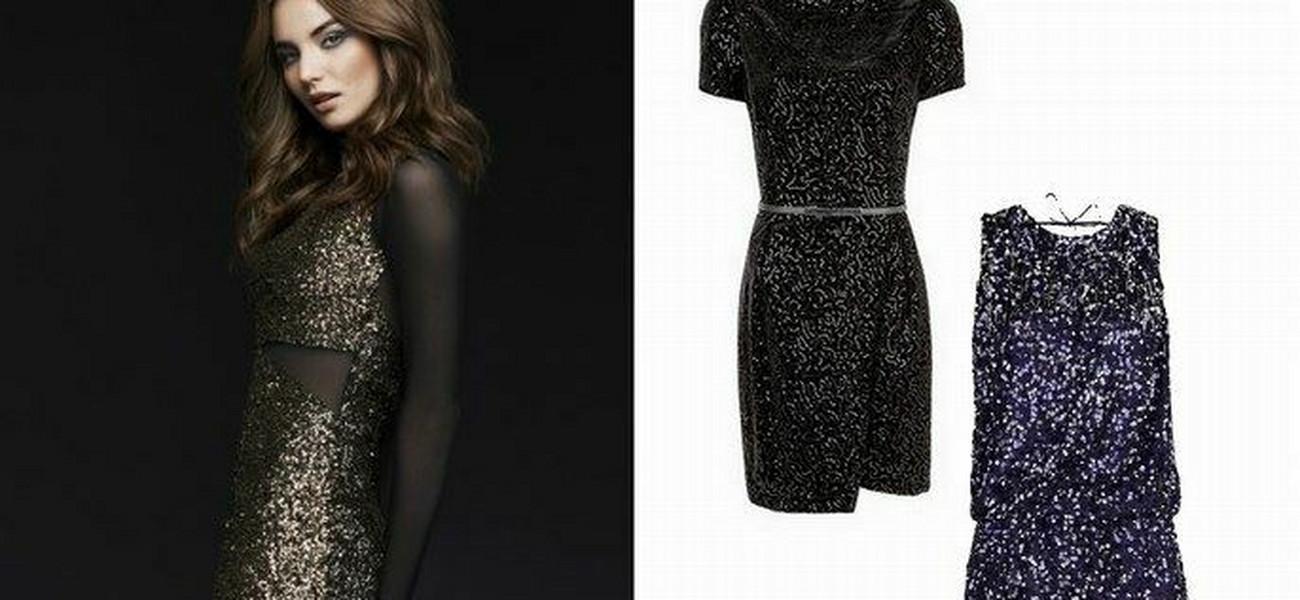 c55d929e8e9cf6 Cekinowe sukienki na imprezę: nasz wybór z sieciówek