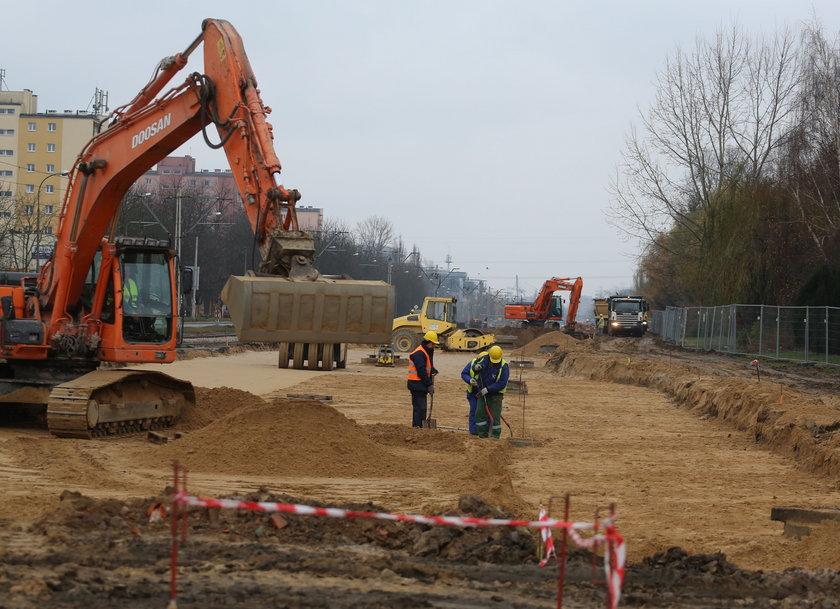 Budowa nowej jezdni ul. Wołoskiej