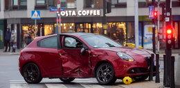 Znana aktorka rozbiła auto w Warszawie