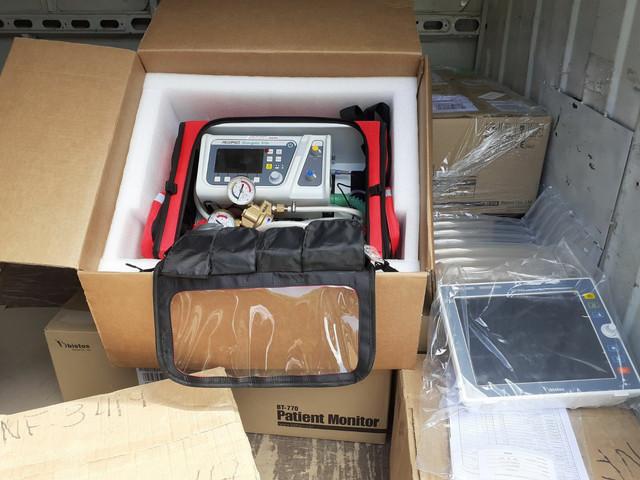 Donacija respiratora i  medicinske opreme KBC Kosovska Mitrovica