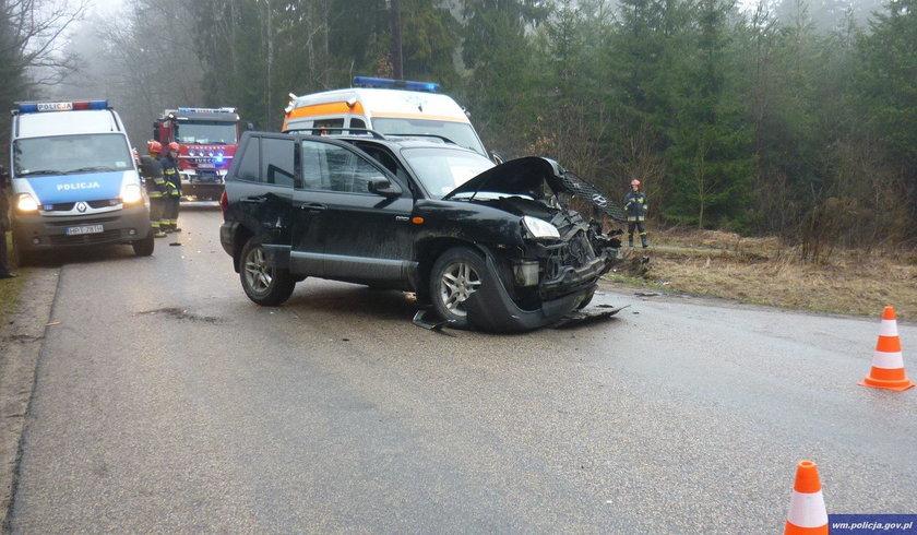 Policjanci wyjaśniają szczegółowe okoliczności wypadku