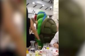 Kad Užičani detetu slave rođendan i kornjače IGRAJU KOLO (VIDEO)