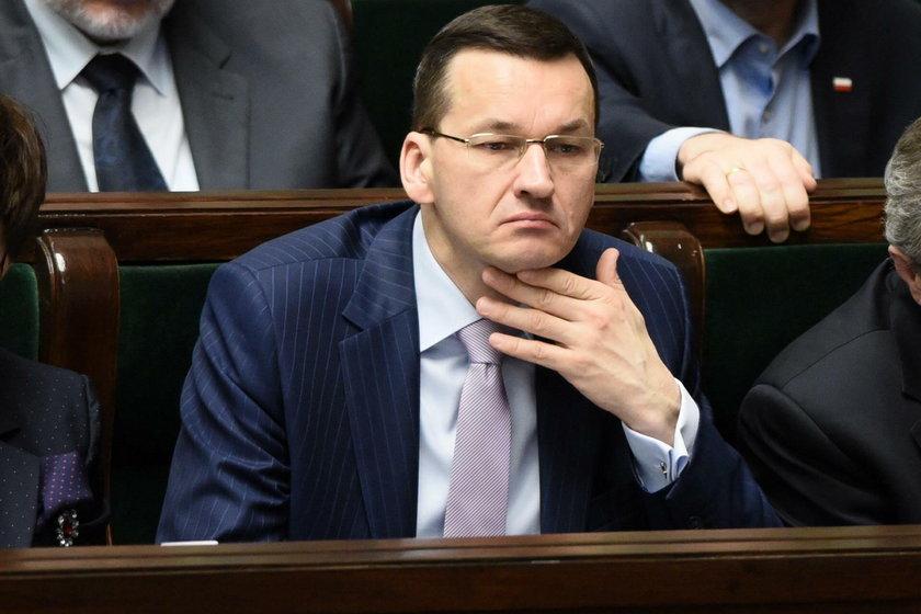 Rząd poparł pomysł Morawieckiego