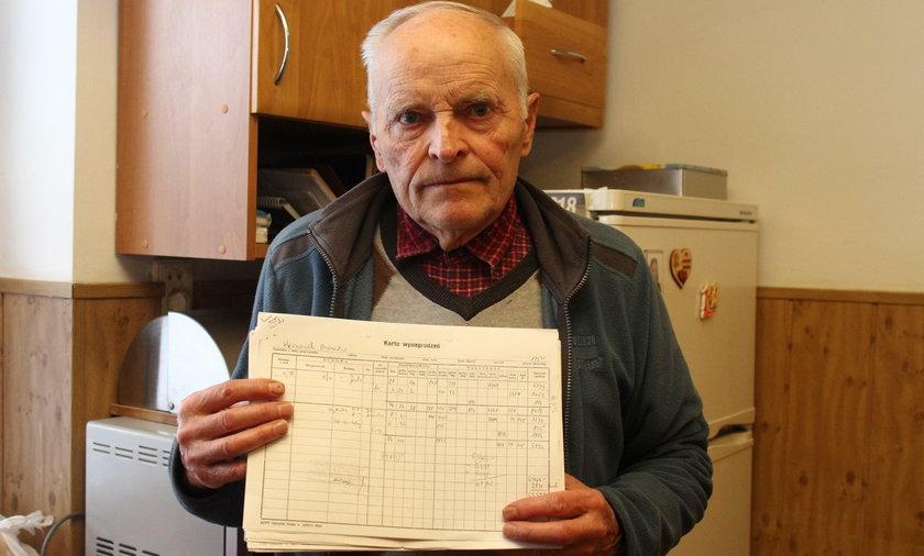 Bronisław Wronowski (77 l.) z Wojtkówki na Podkarpaciu