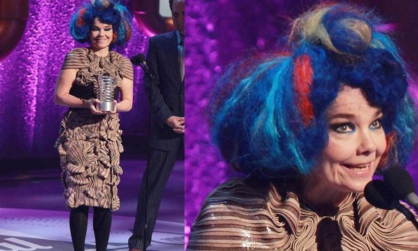 Bjork Webby Awards 2012