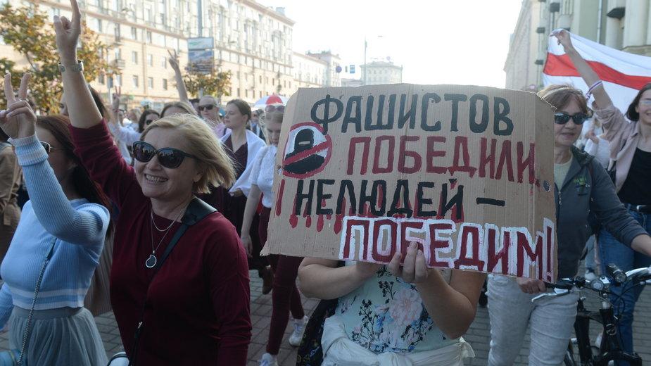 Na Białorusi wciąż trwają protesty