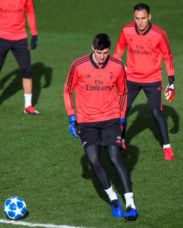 Kejlor Navas, Tibo Kurtoa, Real Madrid