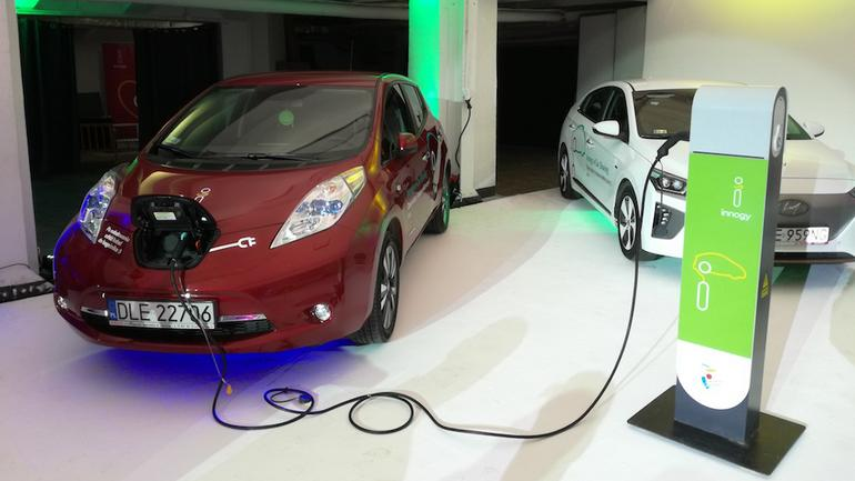 Auta elektryczne – wynajem w Warszawie