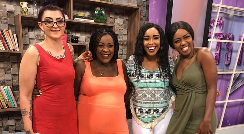 Ebru TV presenter shows off her full body tattoo in nude photo