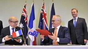 Australia zawarła z Francją umowę o budowie okrętów podwodnych