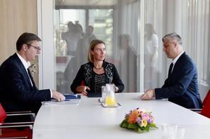 ZAVRŠENA RUNDA DIJALOGA U BRISELU Vučić: Albanci i Tači bi sve, mi tražimo kompromis, da niko NE BUDE UNIŽEN