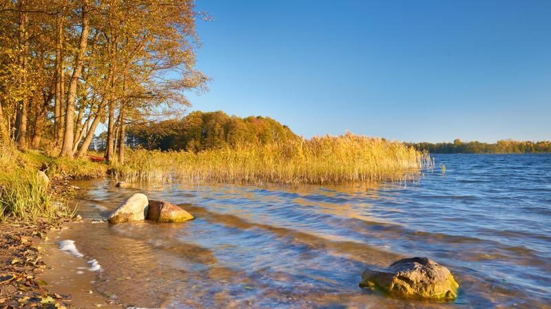 Jezioro Hancza, Wigierski Park Narodowy