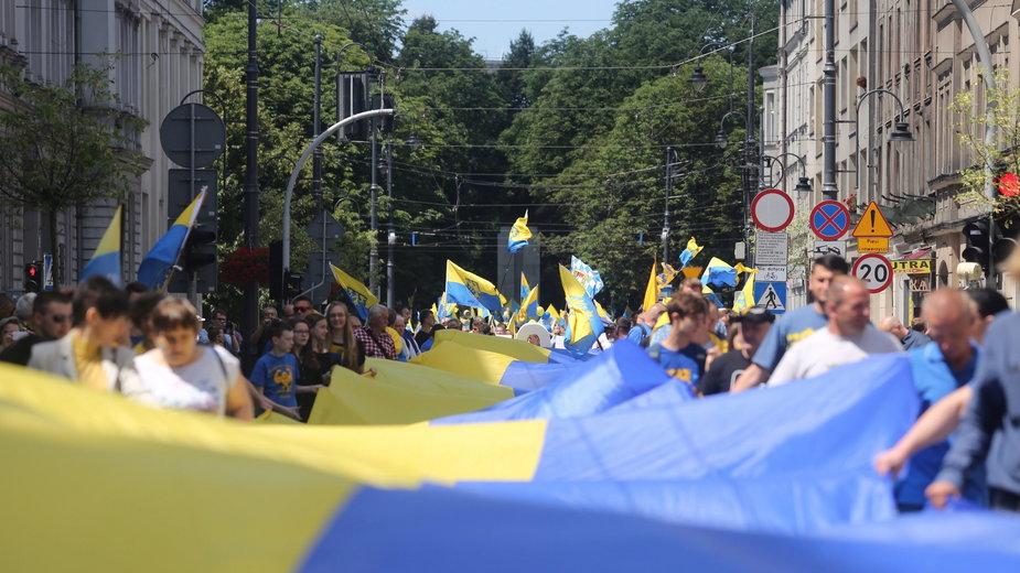 Marsz Autonomii Śląska w 2015 r.