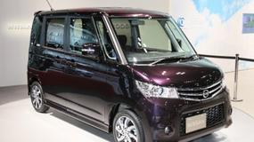 Wielka przestrzeń w formacie mini - Nissan Roox