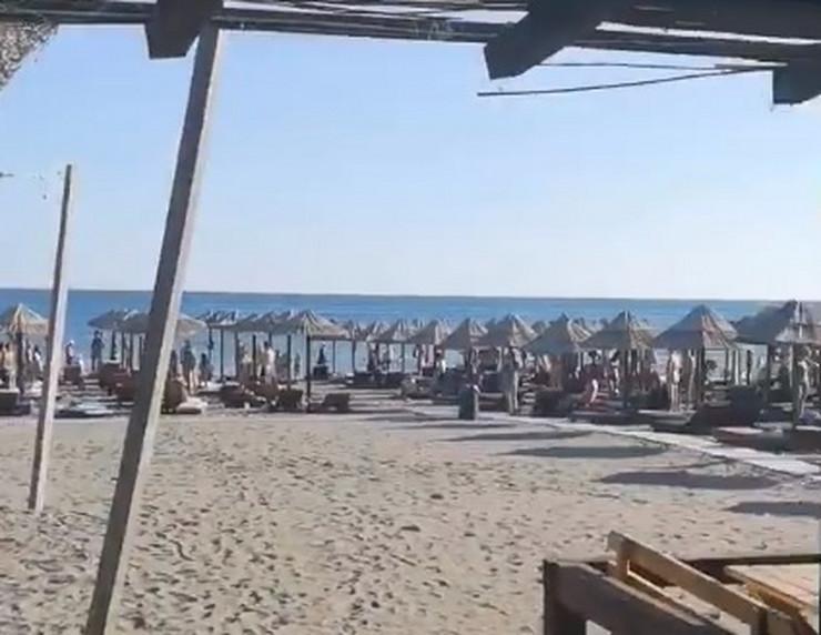 Hej Sloveni Ulcinj plaža