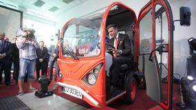 Ursus - nowy elektryczny pojazd dostawczy
