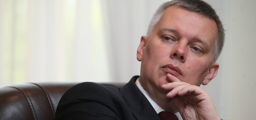 Polityk przyznaje, że wyszedł z pracy na urodziny Mazurka. Dostał zaskakujący prezent