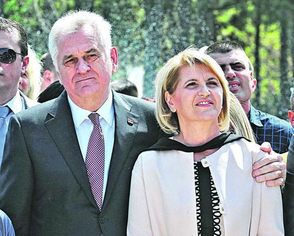Tomislav i Dragica Nikolić