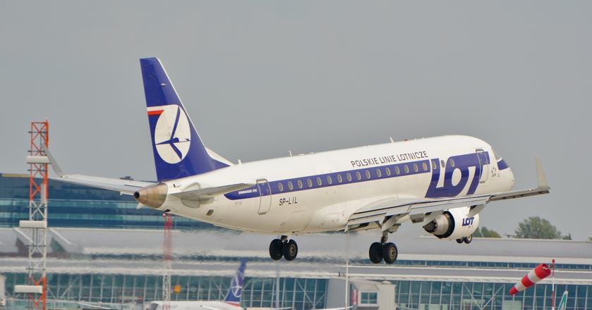 Połączenia PLL LOT do Moskwy będą obsługiwać Embraery