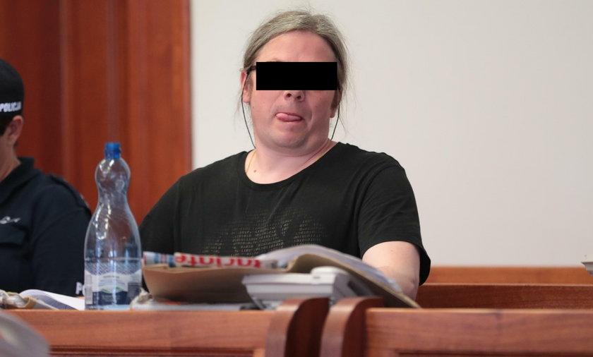 Paul W. w sądzie wydawał się wręcz wesoły i pewny siebie