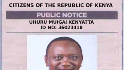 Activist arrested over widely circulated Uhuru, Ruto posters